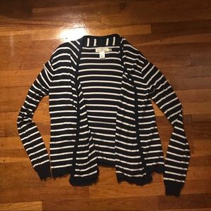 H&M Logg striped sweater sz 14 kids